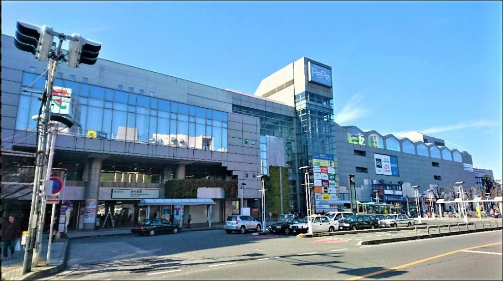 周辺の街並み 本川越、駅、徒歩4分320m、プリンスホテル・ペペ商店街、いつも賑わうショッピングセンター!