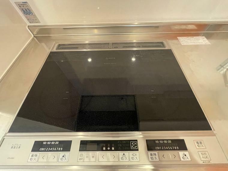キッチン IHクッキングヒーター 三口コンロ