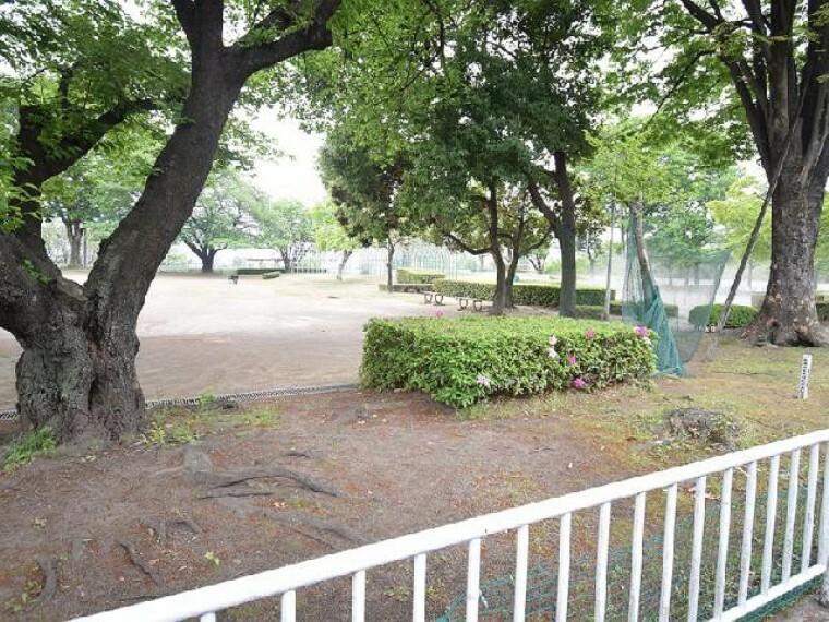 三山公園・・・広々とした公園が徒歩7分圏内にあります。お散歩しながら立ち寄れる距離はいいですよね。
