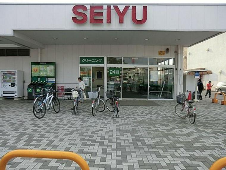 西友 吹上店・・・24時間営業のスーパーは急な買い物にも安心です。