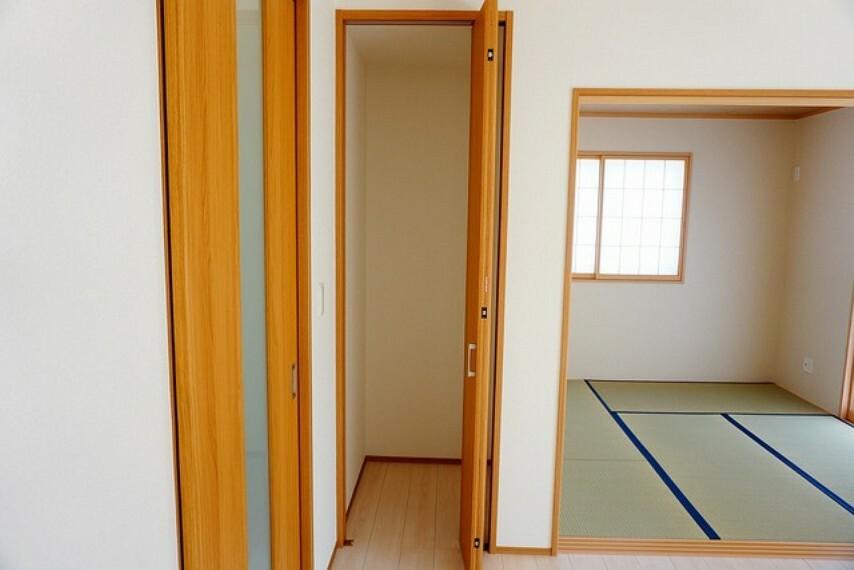 収納 リビングには、家の中をスッキリと快適に保てる便利な収納が付いています^^