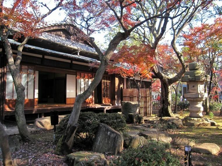 【文化財】旧朝倉家住宅まで405m