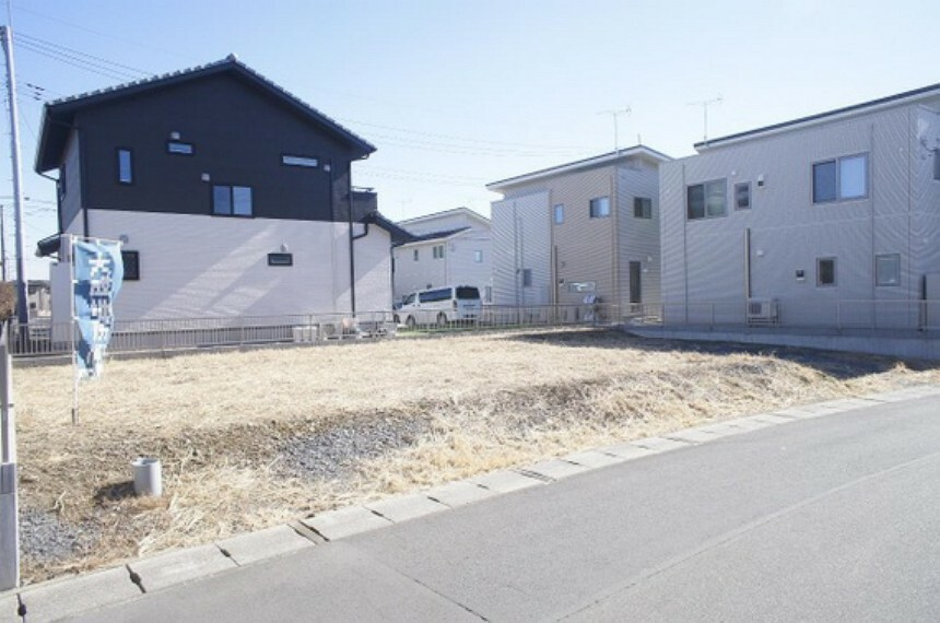 現況写真 栃木市片柳町2丁目の売地です。