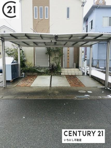 駐車場 駐車場は停めやすい広さで2台分。 センチュリー21いちにし不動産はお仕事で忙しいお客様を応援します。 早朝・遅い時間、急なご案内も対応いたします。 一年中休まず営業中(夏季・年末年始を除く)