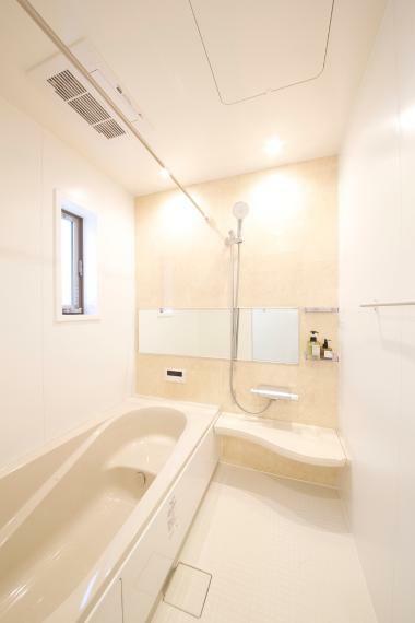 浴室 清潔感のある浴室は一日の疲れを癒してくれます