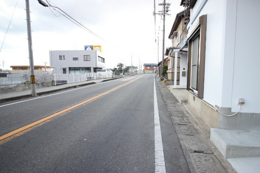 外観・現況 東側 公道 約9.0m 間口 約25.0m