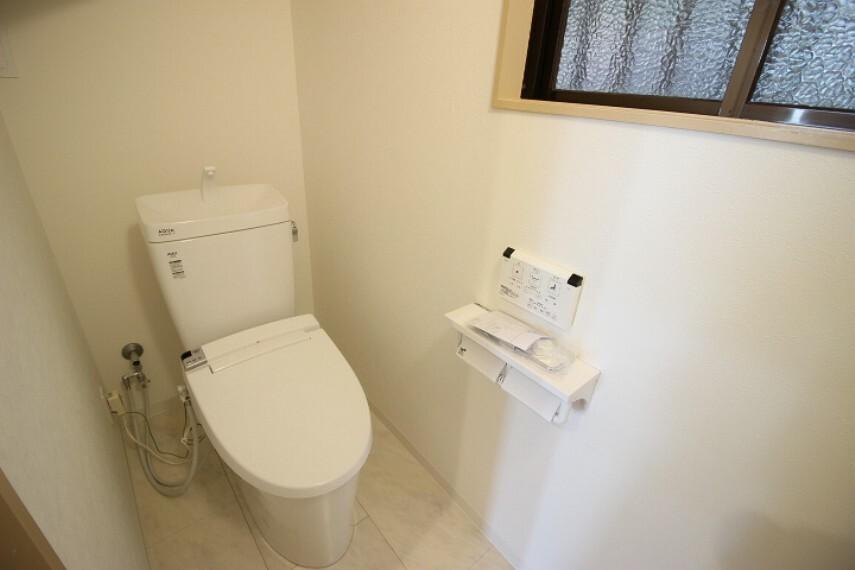 トイレ 温水洗浄便座付のトイレでいつも快適に