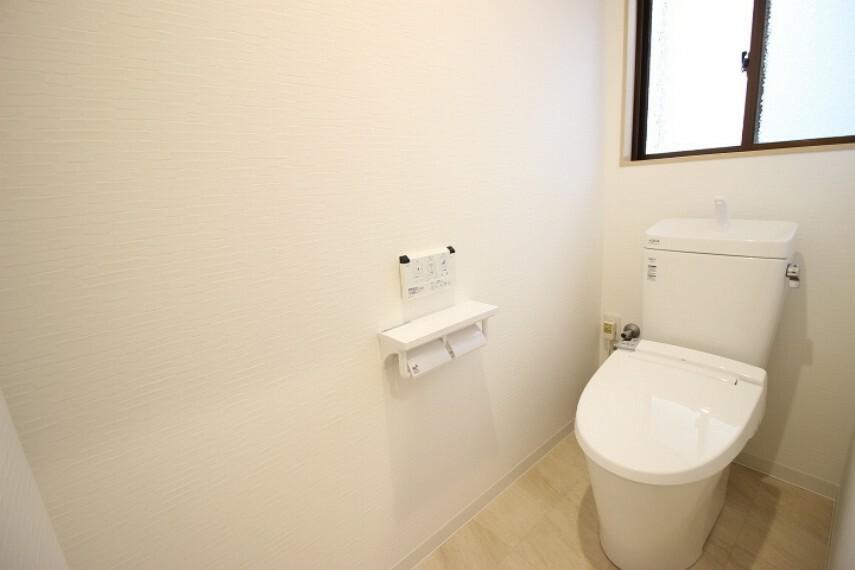 トイレ 2階にもトイレをご用意