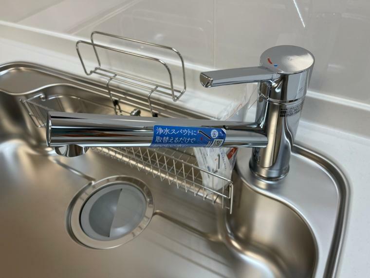 キッチン 浄水器付き