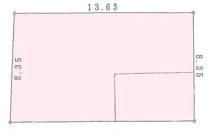 区画図 3号地 区画図