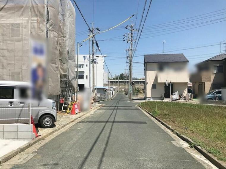 現況写真 前面道路:南東4.6m