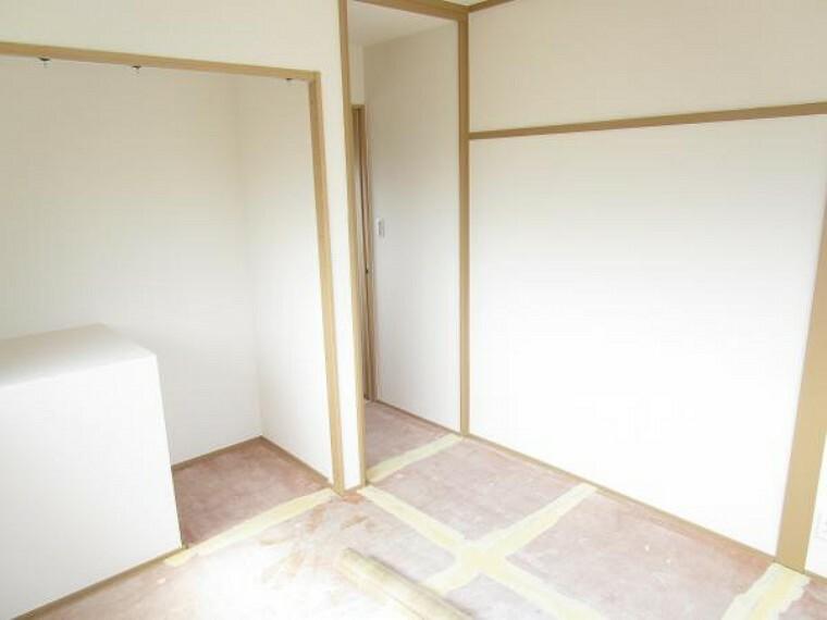 【リフォーム中】2階6畳和室は洋室に変更予定です。(2021.2.27撮影)