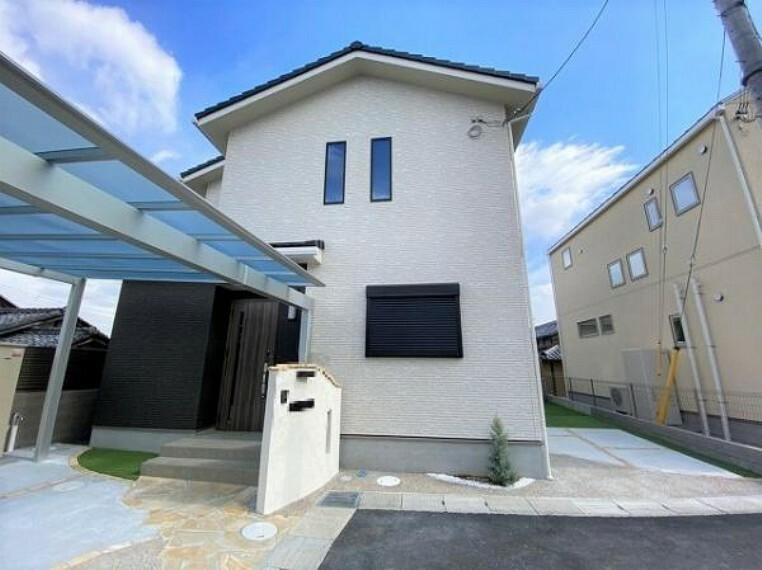 現況外観写真 日当たり良好、2階建のお家です!