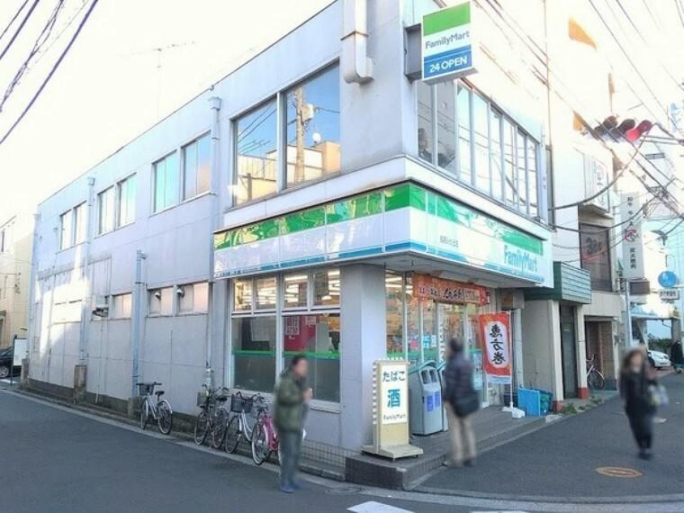 コンビニ ファミリーマート鶴見みかど店