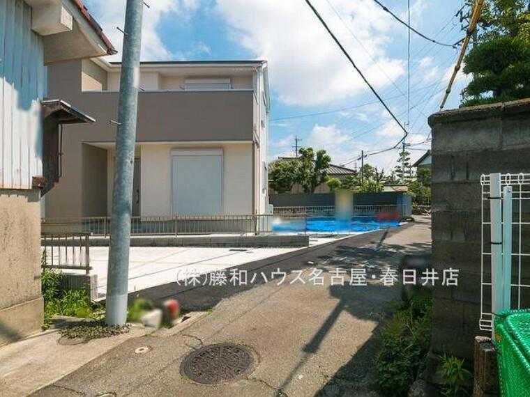 現況写真 接道状況および現場風景 【名古屋市南区元鳴尾町】