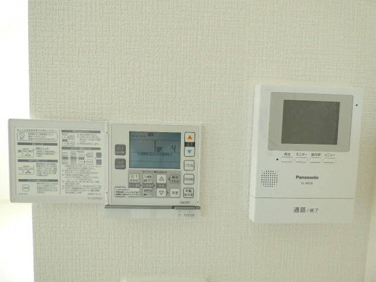 TVモニター付きインターフォン TVモニター付きインターフォン・給湯器
