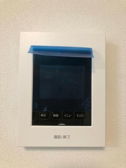 TVモニター付きインターフォン モニターつきインターホンで防犯性アップ!