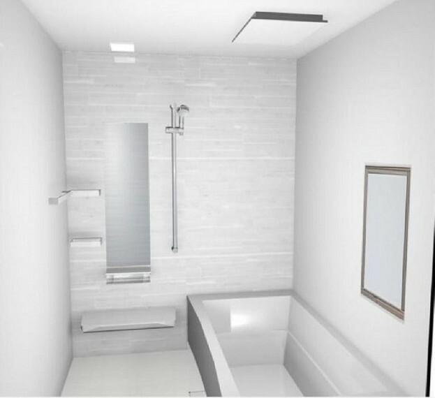 完成予想図(内観) 【B浴室】暖房・乾燥・換気と多彩な機能でオールシーズン快適なバスタイム。