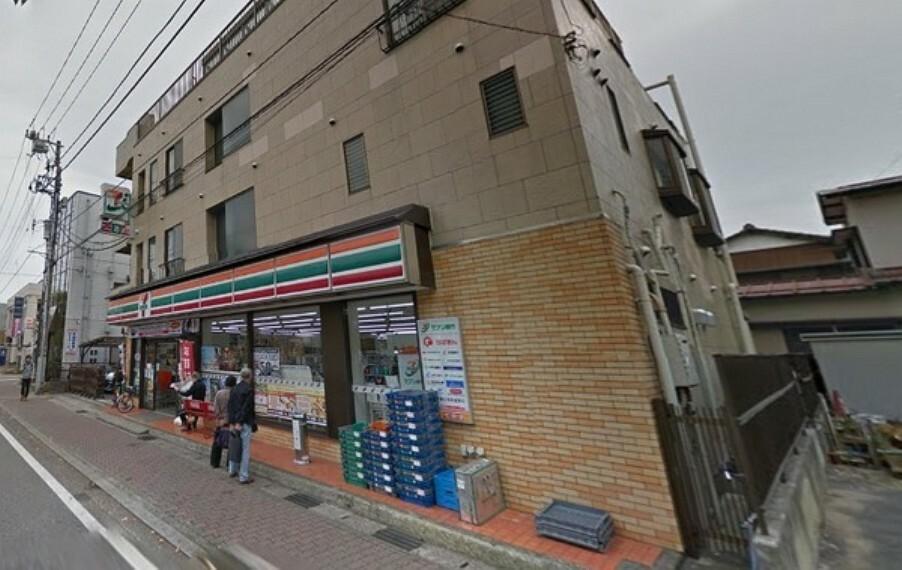 コンビニ セブンイレブン三河屋花園店