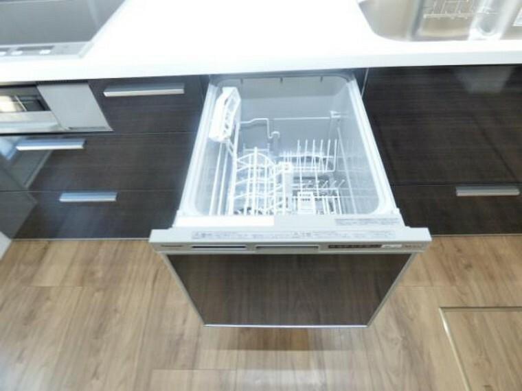 食洗器も標準装備です。