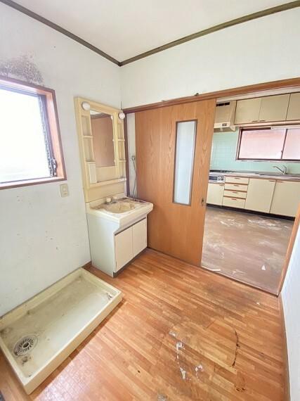 洗面化粧台 洗面室です。