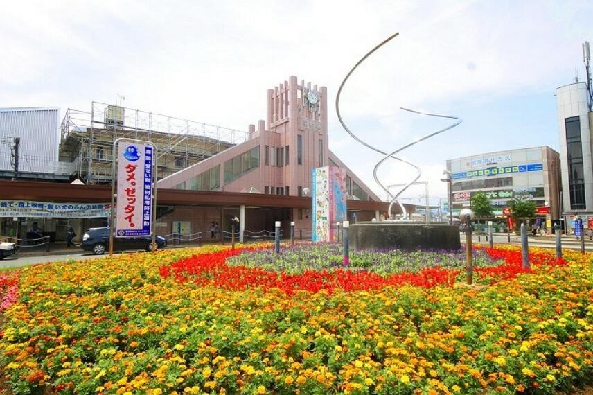 周辺の街並み 羽村駅