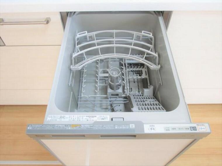 【リフォーム済】食器洗浄機付きのキッチンを設置しております。