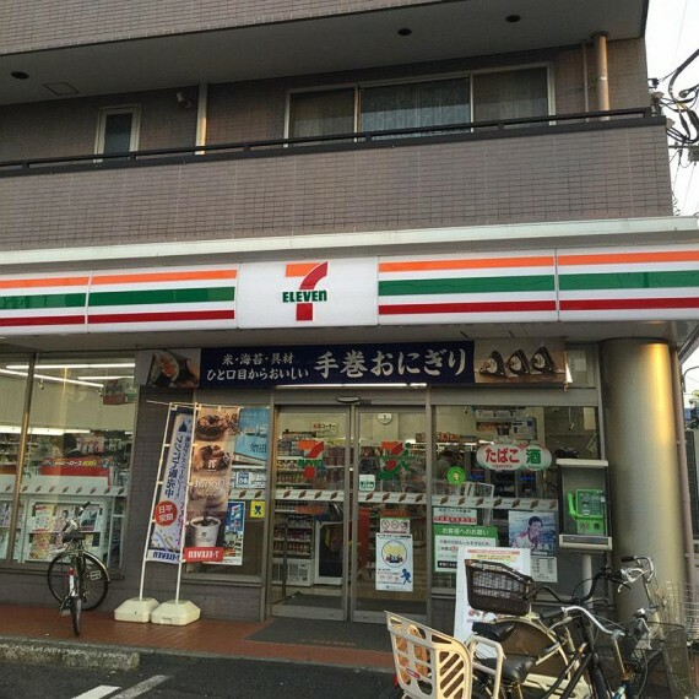 コンビニ 【コンビニエンスストア】セブンイレブン 同潤会松江店まで42m