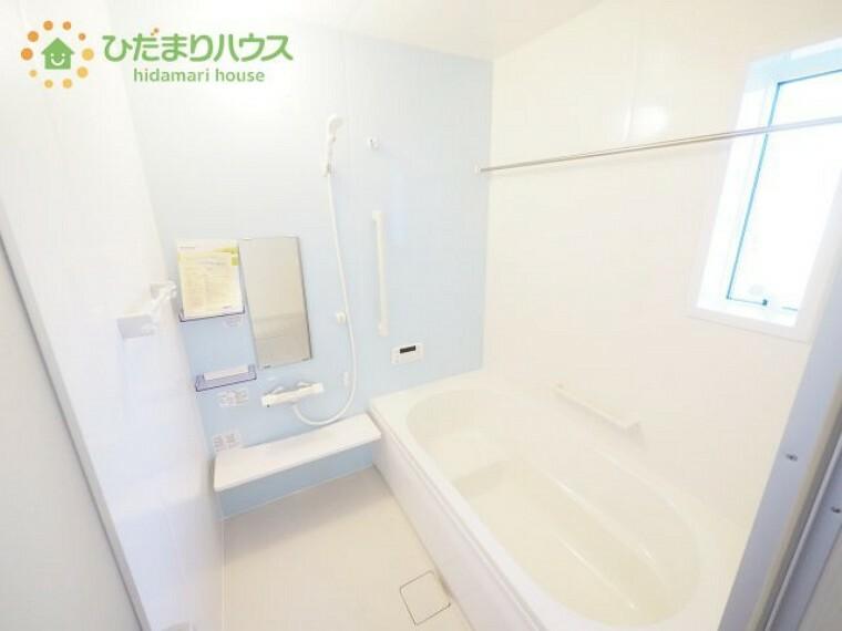 浴室 清潔感のある浴室は自分一人のリラックス空間を演出してくれます。もちろんお子様と一緒でも十分な広さがあり快適です(^^