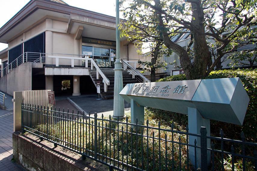 日本画家川端龍子を記念して建てられた美術館 現在は大田区立龍子記念館として区が管理