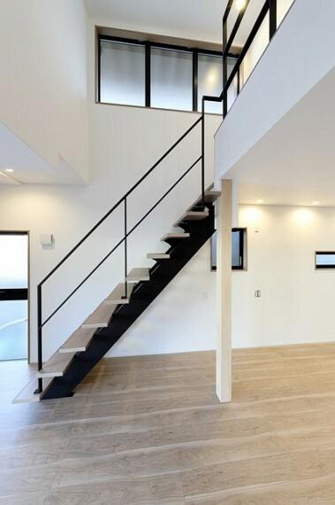 居間・リビング リビング階段