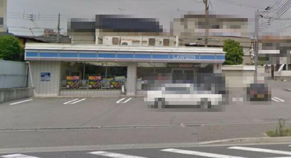 コンビニ ミニストップ神戸鈴蘭台西町店 ローソン鈴蘭台駅東店