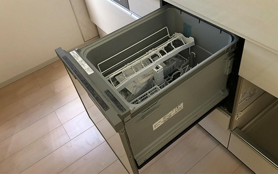 現地写真:食器洗浄機(1号棟)