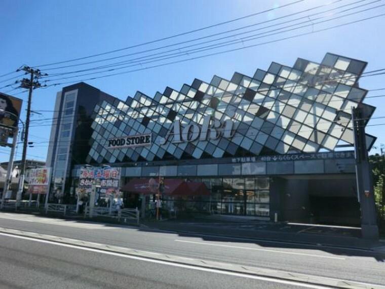 スーパー フードストアあおき横浜天神橋店まで約510m