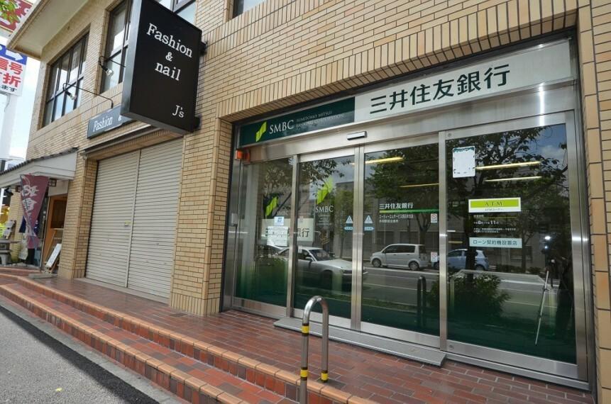 銀行 【銀行】三井住友銀行多田駅前出張所まで801m