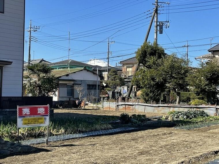 現況写真 開成町に位置する現地