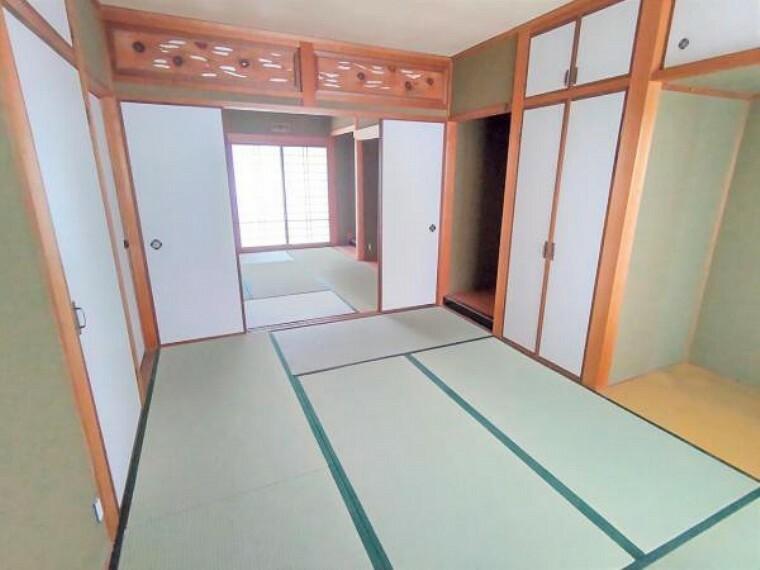 【リフォーム中】別角度からの1階和室です。
