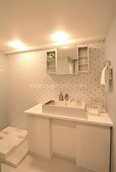 洗面化粧台 5階部分