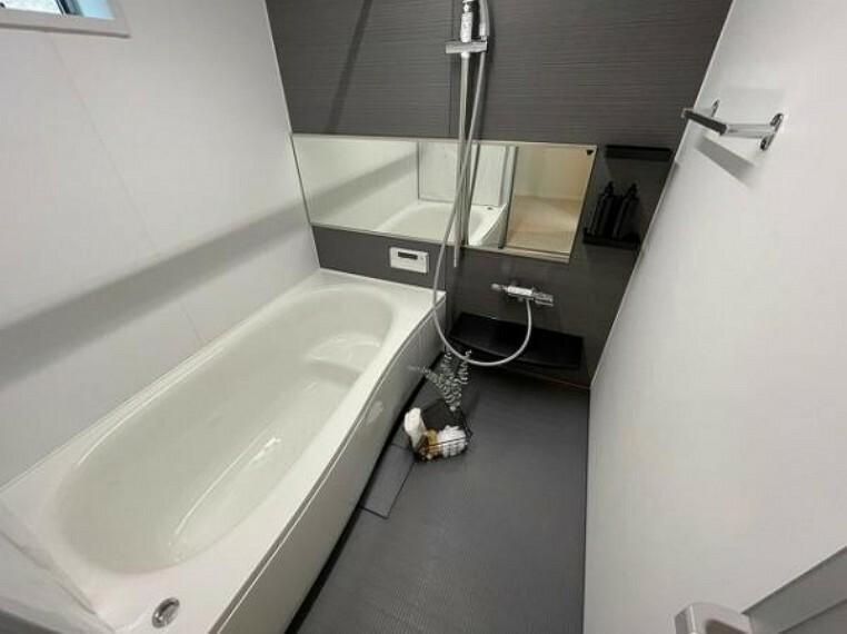 浴室 ゆったりバスルームで一日の疲れを癒してください