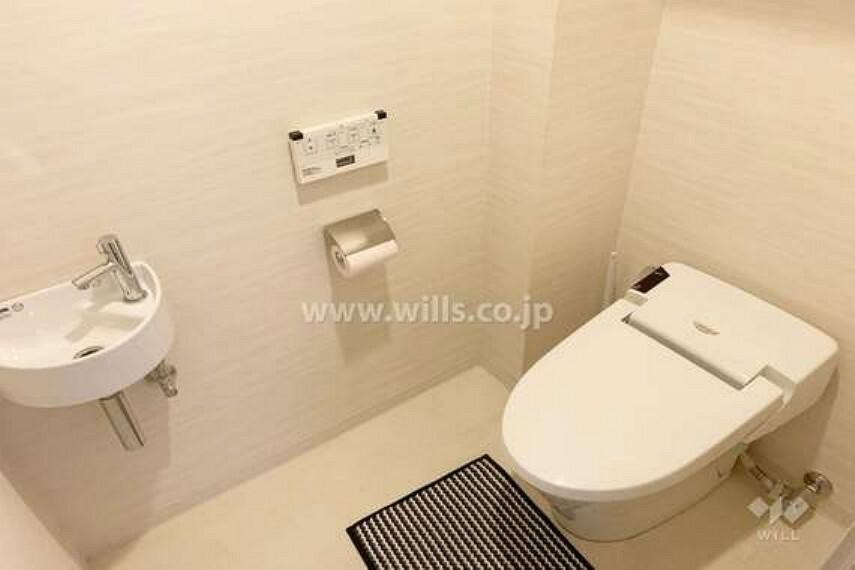 トイレ トイレ。[2021年3月12日撮影]