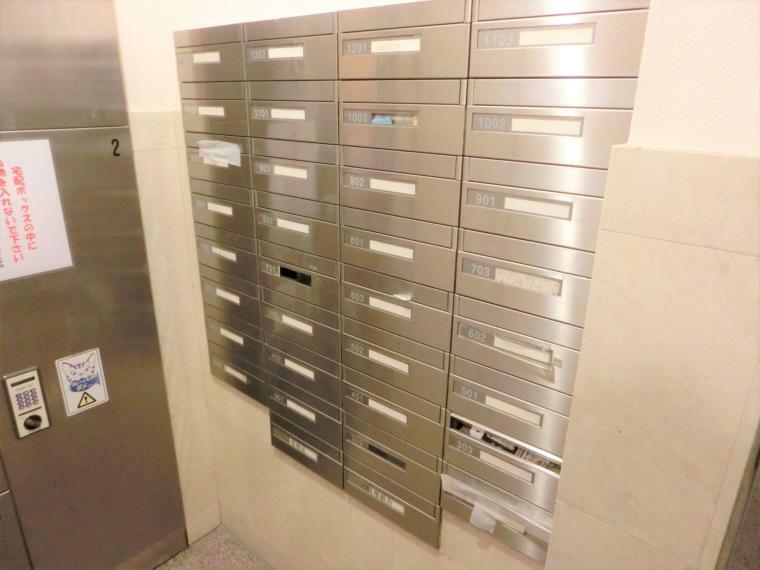 郵便受け 郵便ボックスです。