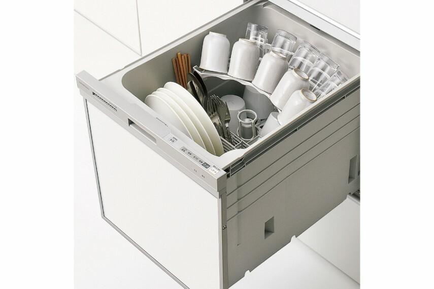キッチン/クリナップ「食洗器洗い乾燥機」  お料理の後片づけをきちんとサポートするビルトインタイプの食器洗い乾燥機です。