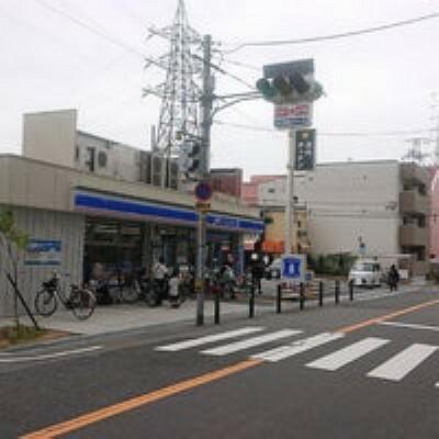 コンビニ 【コンビニエンスストア】ローソン 門真幸福町店まで69m