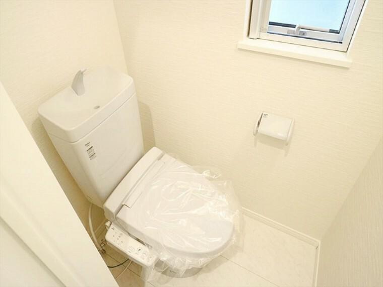 トイレ 清潔感のあるトイレ。
