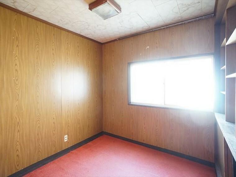 洋室 洋室も一部屋あります。