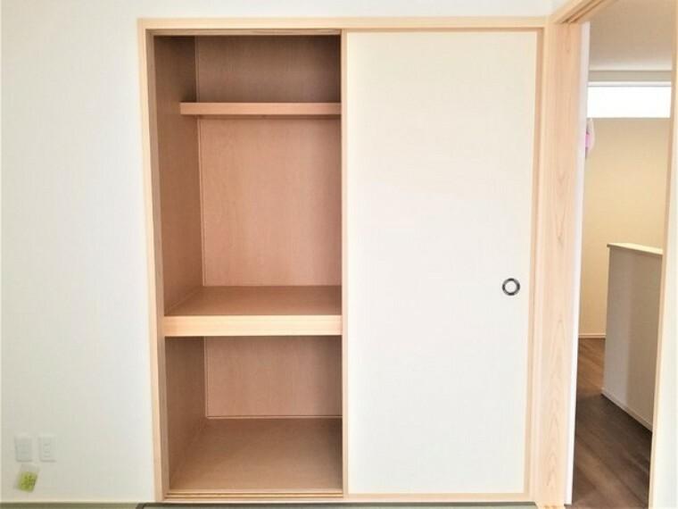 収納 収納・和室の収納スペース