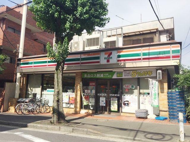 コンビニ セブンイレブン世田谷深沢店 徒歩18分。