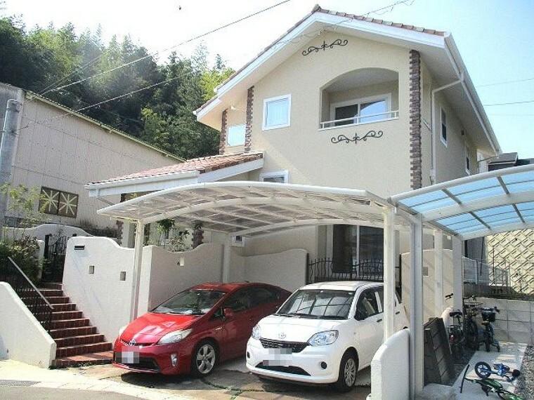 外観写真 太陽光発電搭載のオール電化住宅 駐車2台可