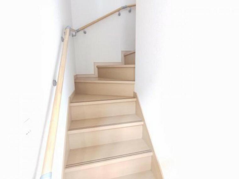 【リフォーム済】階段はきれいにクリーニングしました。