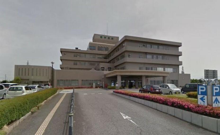 病院 豊栄病院まで1900m(徒歩24分)大規模の総合病院が近くにあると、何かあってはいけませんが安心の距離ですね。
